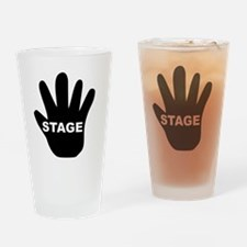 StageHand Drinking Glass