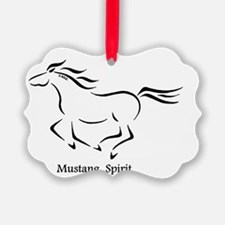 Mustang Spirit Ornament