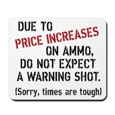Due to price increases... Mousepad