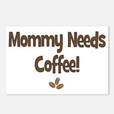 Mommy Needs Coffee Postcards (Package of 8)