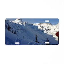 Northwest Sessions Aluminum License Plate