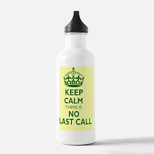 Keep calm 16x20 Water Bottle