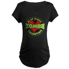 Be My Bloody Zombie Valenti T-Shirt