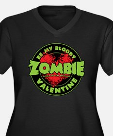 Be My Bloody Women's Plus Size Dark V-Neck T-Shirt