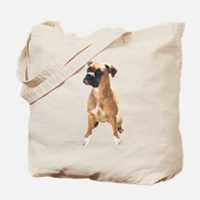 Cute Brindle boxer dogs Tote Bag