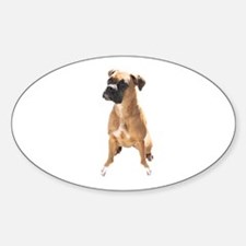 Cute Boxer mom Decal