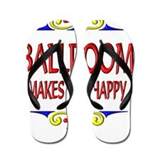 Ballroom Happy Life Flip Flops