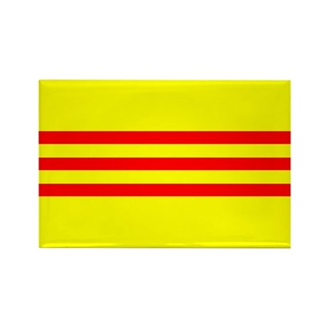 South Vietnam flag Rectangle Magnet (10 pack)