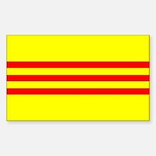 South Vietnam flag Decal