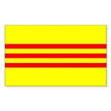 South Vietnam flag Rectangle Decal