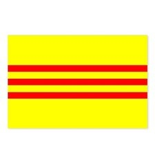 South Vietnam flag Postcards (Package of 8)