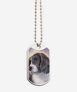 Springer spaniel waiting for a walk Dog Tags