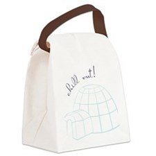 Chill Out Igloo Canvas Lunch Bag