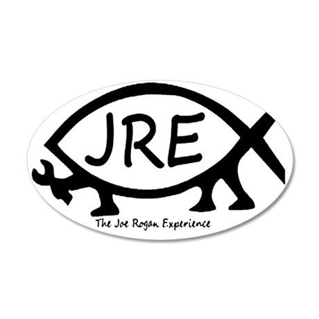 JRE 35x21 Oval Wall Decal