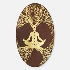 Tree of Life Sticker (Oval)