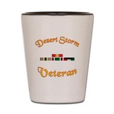 Desert Storm Mug Shot Glass