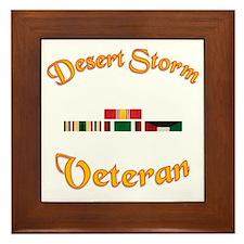 Desert Storm Mug Framed Tile