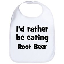 Rather be eating Root Beer Bib