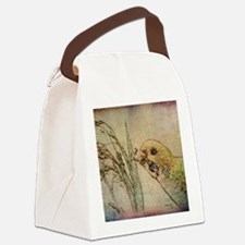Parakeet 005 - With Grains Canvas Lunch Bag
