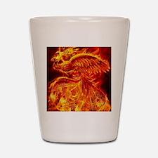 Phoenix Rising Shot Glass