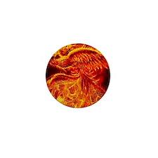 Phoenix Rising Mini Button