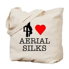 I Love Aerial Silks Tote Bag