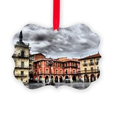 Plaza Mayor of Leon, Spain Ornament