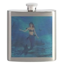 Rebecca Burton Magic Mermaid Flask
