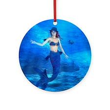 Rebecca Burton Magic Mermaid Round Ornament