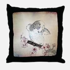Parakeet 007 - Breeze Throw Pillow