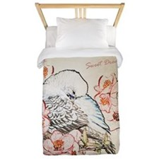 Parakeet Sweet Dreams Durvet Twin Duvet