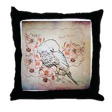 Parakeet Sweet Dreams Durvet Throw Pillow
