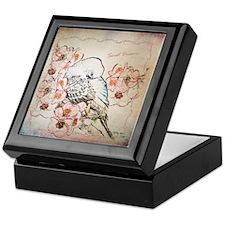 Parakeet Sweet Dreams Durvet Keepsake Box