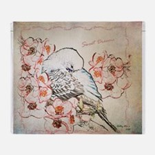 Parakeet Sweet Dreams Durvet Throw Blanket