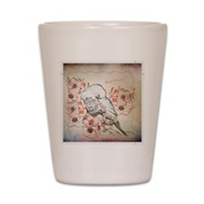 Parakeet Sweet Dreams Durvet Shot Glass