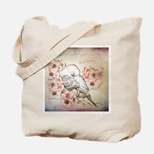 Parakeet Sweet Dreams Durvet Tote Bag