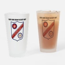Marine Corps Embassy Security Group Drinking Glass