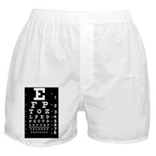 eyechart_full_page dark button Boxer Shorts