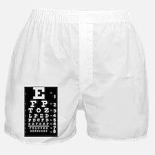 eyechart_full_page dark button Boxer Shorts