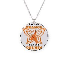 I Wear Orange for my Cousin Necklace