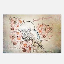 Parakeet 004 - Sweet Drea Postcards (Package of 8)