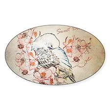 Parakeet 004 - Sweet Dreams Pillow  Decal