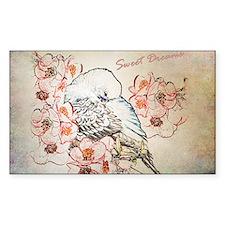 Parakeet 004 - Sweet Dreams Pi Decal