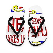 Theatre Happy Life Flip Flops