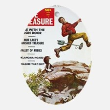 True Treasure June 1969 Oval Ornament