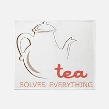 Solves Everything Throw Blanket