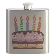Birthday Cake Flask