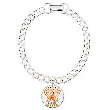 I Wear Orange for my Sis Charm Bracelet, One Charm