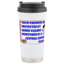 SECURITY ARMED GUARDS Travel Mug