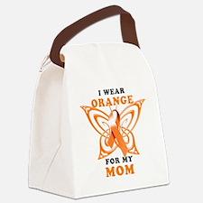 I Wear Orange for my Mom Canvas Lunch Bag
